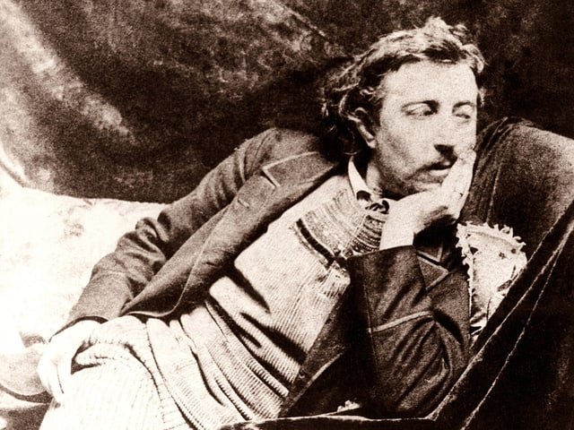 Ein Porträt von Paul Gauguin.