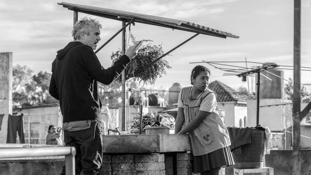 Bild vom Dreh des Filmes «Roma»