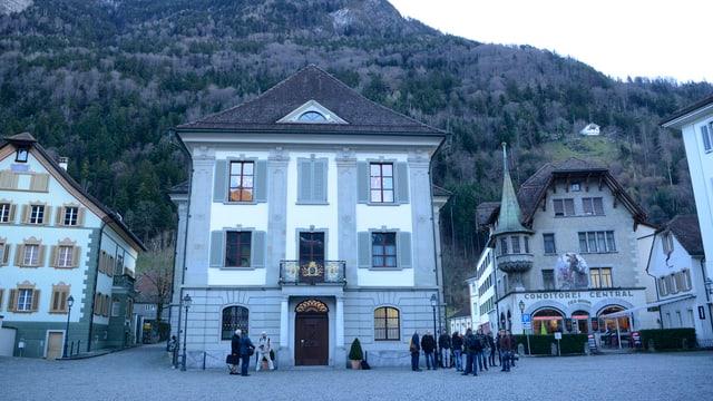 Das Rathaus in Altdorf.