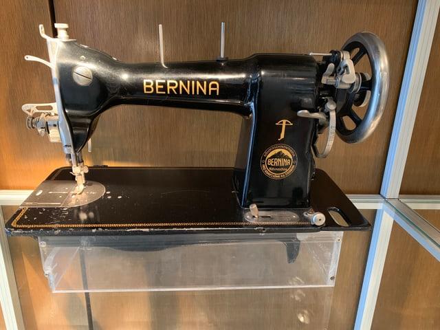 Die erste Nähmaschine von Bernina unter dem Namen Bernina wurde vor rund 100 Jahren in Steckborn hergestellt.