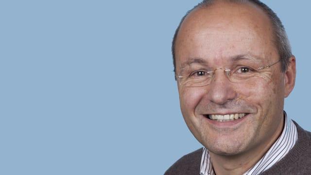 Linard Candreia, deputà socialdemocratic en il Landrat a Basilea-Champagna.