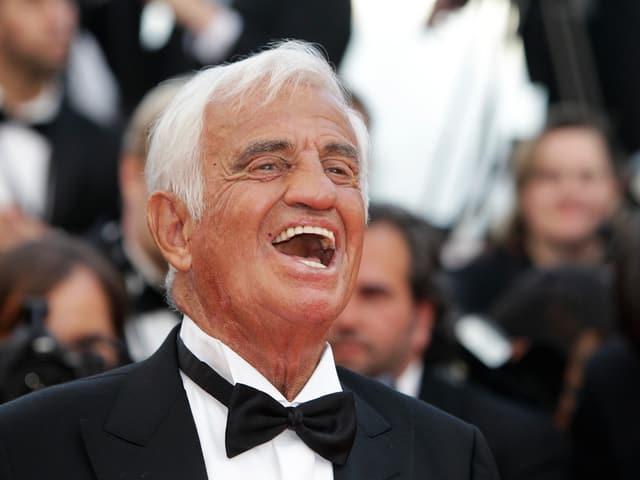 Belmondo 2011 in Cannes.