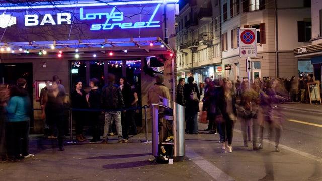 Nachtleben an der Zürcher Langstrasse