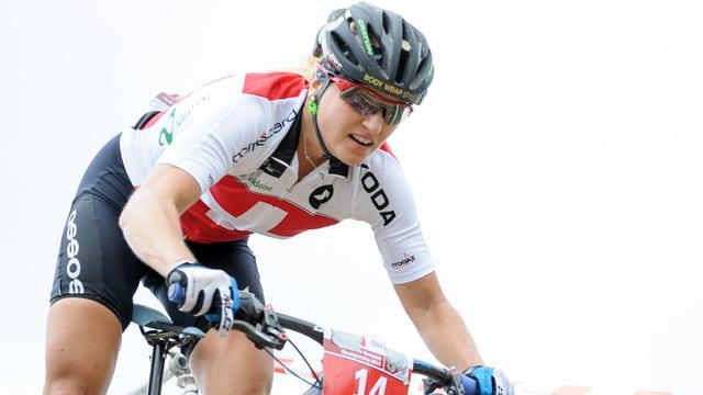 Kathrin Stirnemann konnte endlich ihren 1. Weltcup-Sieg feiern.