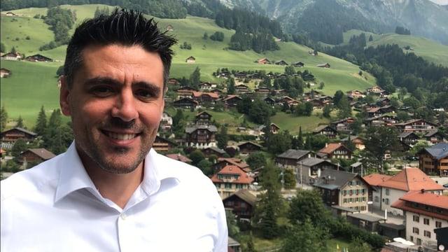 Gestatten: Frédéric Delachaux, Tourismusdirektor