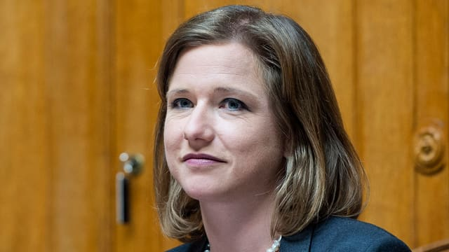 La Cussegliera naziunala da la PLD, Christa Markwalder