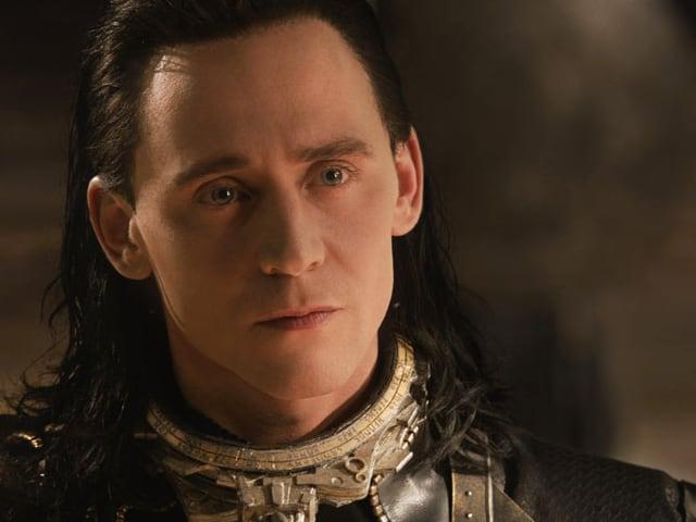 Nahaufnahme Loki.