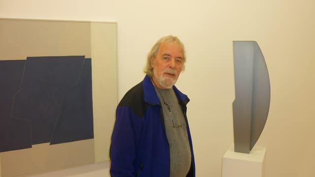 Il pictur-artist Gieri Schmed