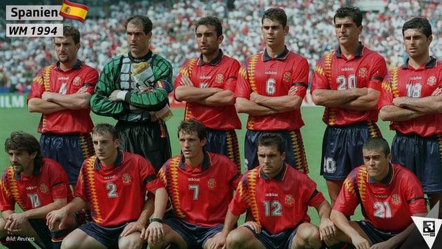 WM-Trikots Spanien 1994
