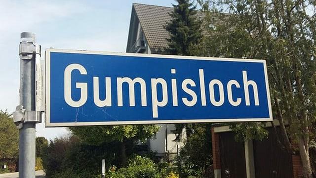 Strassenschild in Landschlacht TG.