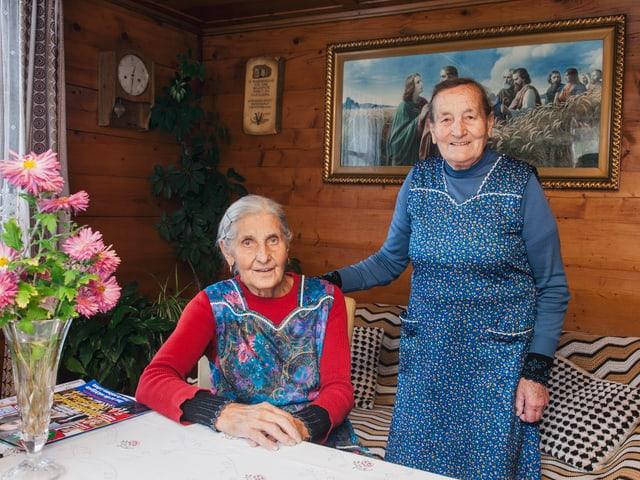 Therese Vomsattel und Martha Zimmermann.