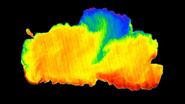 Temperaturgrafik des Lake Tahoe