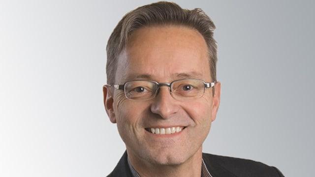 Porträtbild von Conrad Wagner, Regierungsratskandidat der Grünen.