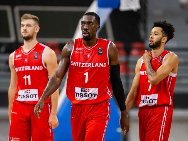 Die Schweizer Basketballer sind in der WM-Vorqualifikation ausgeschieden.
