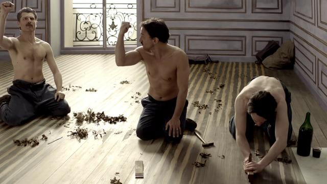 Video «Bilder allein zuhaus: Die Parkettschleifer (18/30)» abspielen