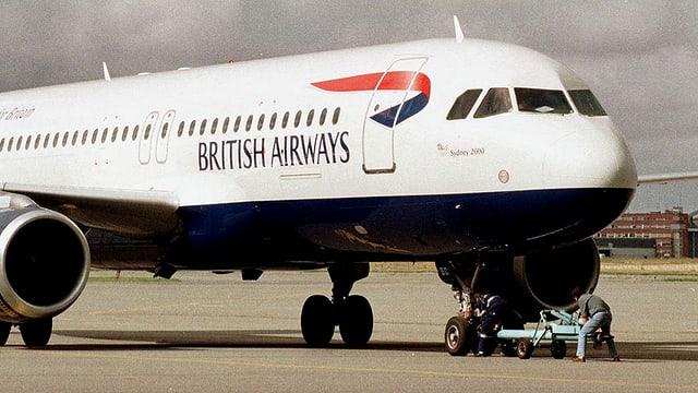 Ein Flugzeug der British Airways