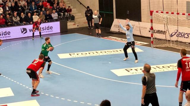 Ivan Wyttenbach beim Penalty.
