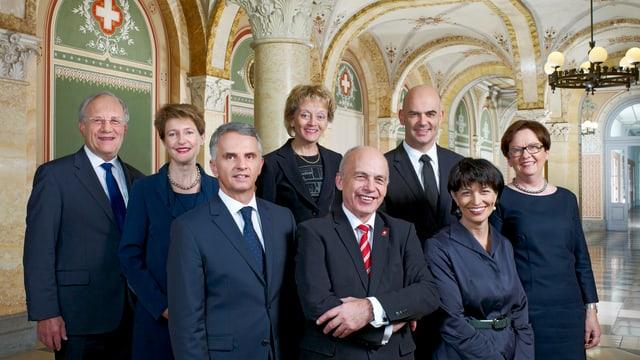 Bundesratsfoto 2013.