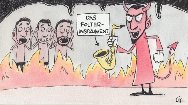 Das Saxophon ist zurück.