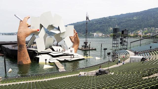 Video «Oper «Carmen» aus Bregenz – Der Countdown» abspielen