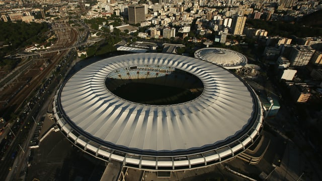Das berühmte Maracanã-Stadion in Rio.