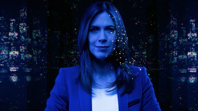 Susanne Wille in blau