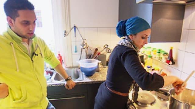 Video «Göttlich speisen - Wie die multireligiöse Schweiz isst» abspielen