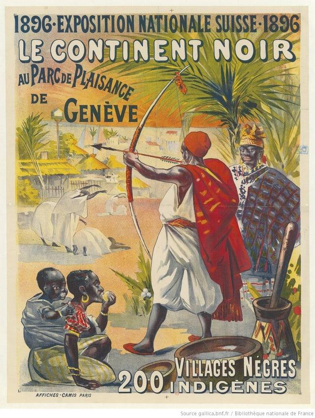 Plakat Landesausstellung 1896