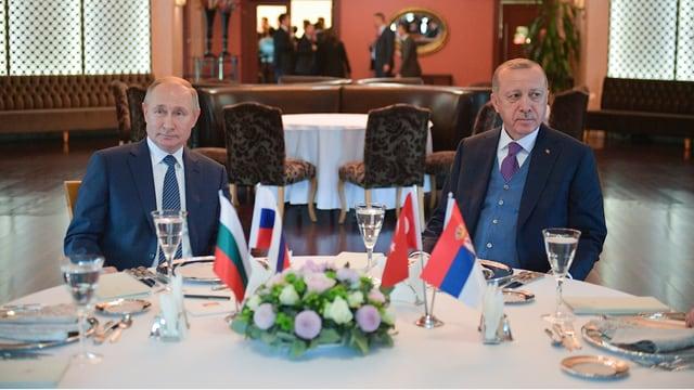 Erdogan zu Gesprächen bei Putin