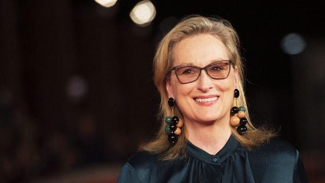 Porträt Meryl Streep.