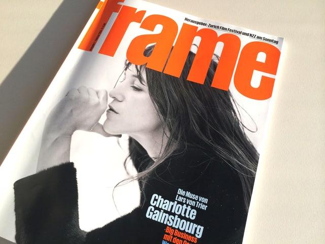 Das Cover des neuen Magazins «Frame».