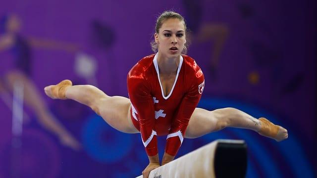 La trav d'equiliber ha fatg ina fin cun ils siemis da Giulia Steingruber d'ina medaglia.