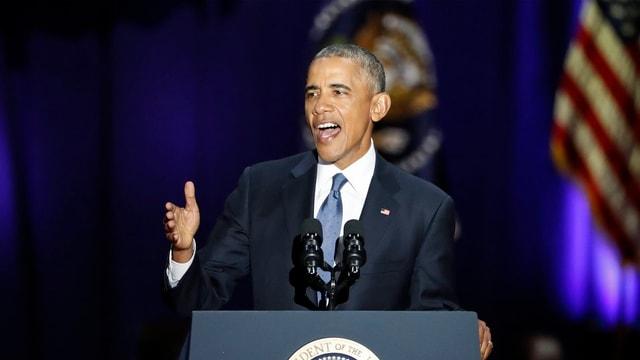 8 onns Barack Obama – 8 onns cun victorias e terradas.