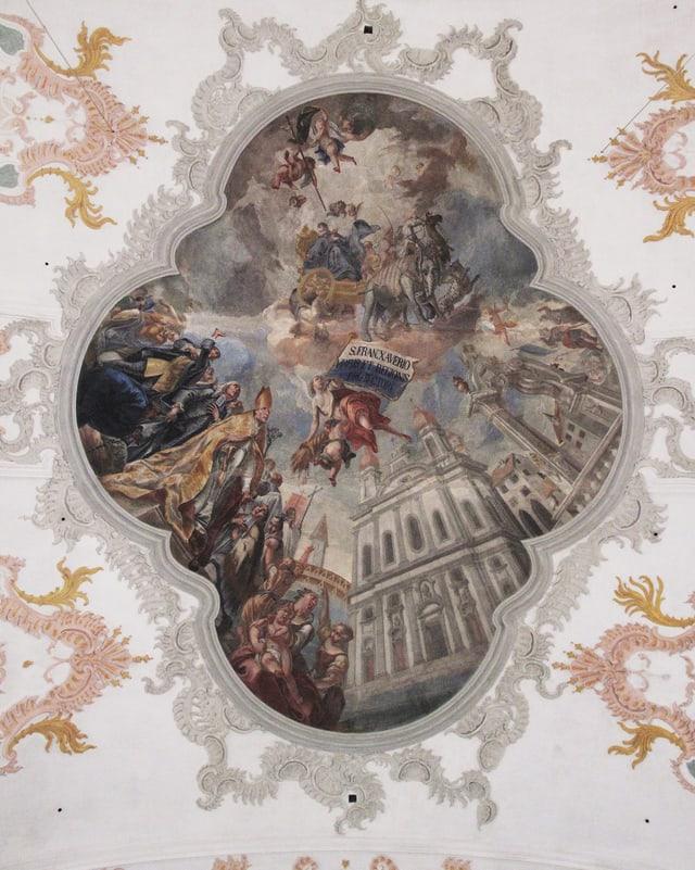 barockes Deckengemälde