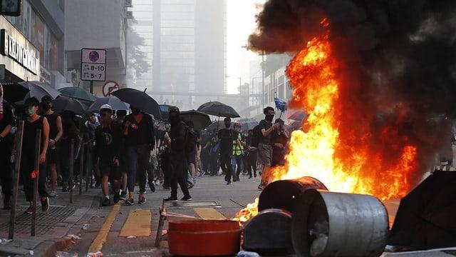 Demonstraziuns a Hongkong