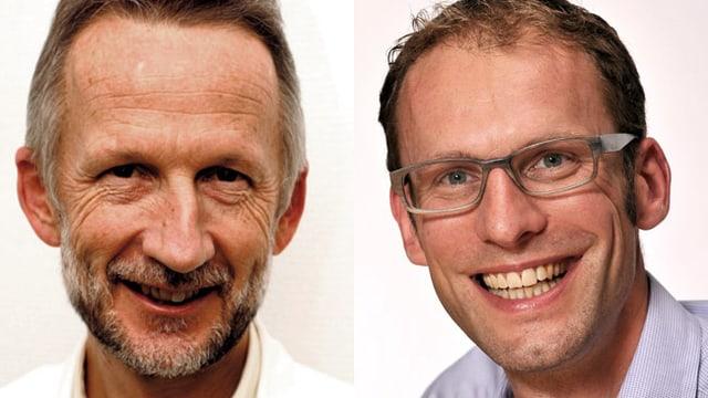 Die Palliativmediziner Dr. Roland Kunz und Dr. Markus Minder