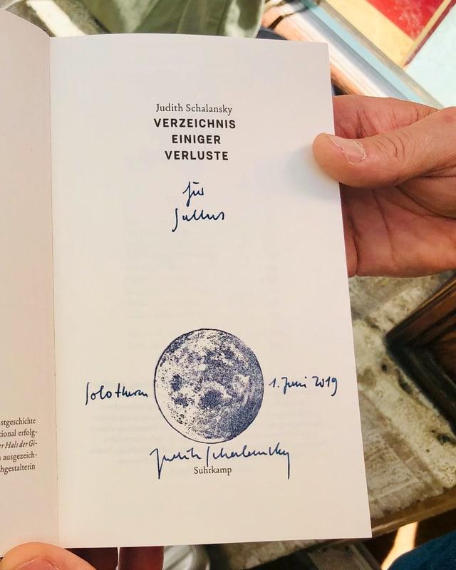 Buchsignatur von Judith Schalansky