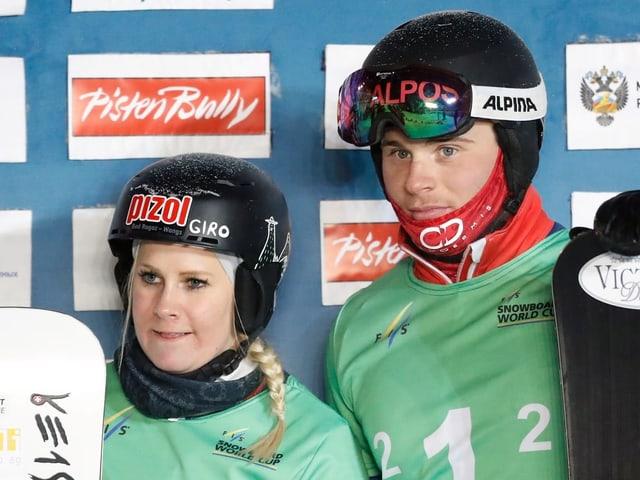 Julie Zogg und Dario Caviezel.