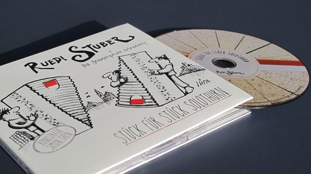 CD und Booklett von Ruedi Stuber