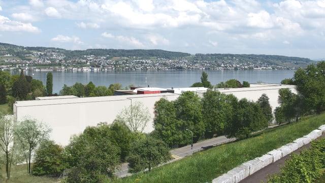 Visualisierung Au-Park in Wädenswil