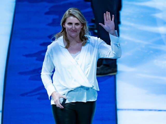 IOC-Mitglied Hayley Wickenheiser.
