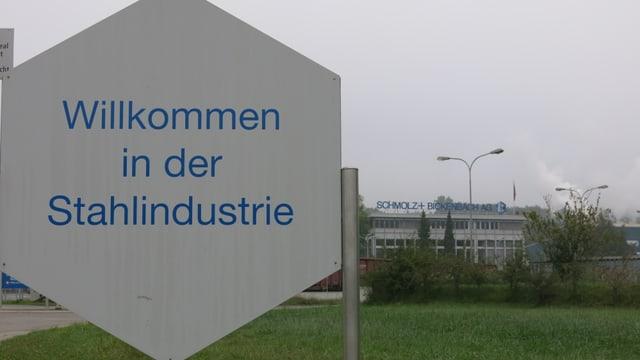 Willkommen in der Stahlindustrie - in Emmen.