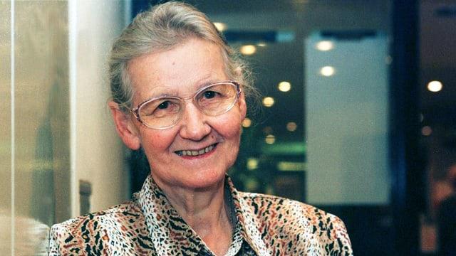 Porträt der Schriftstellerin Hanni Salvisberg.