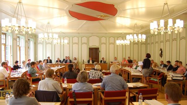 Sitzung des Stadtrats von Thun.