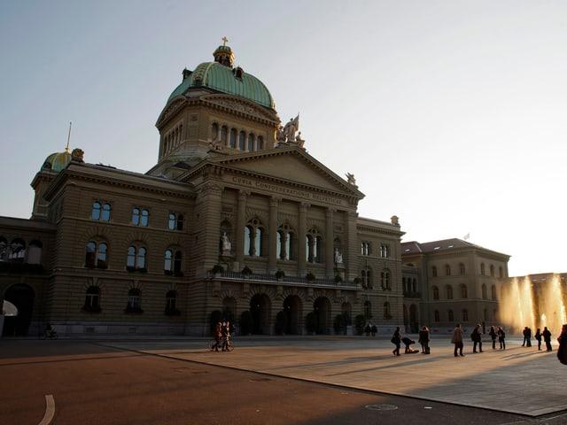 Bundeshaus heute