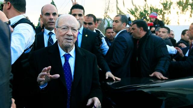Der frühere Regierungspräsident Beji Essebsi