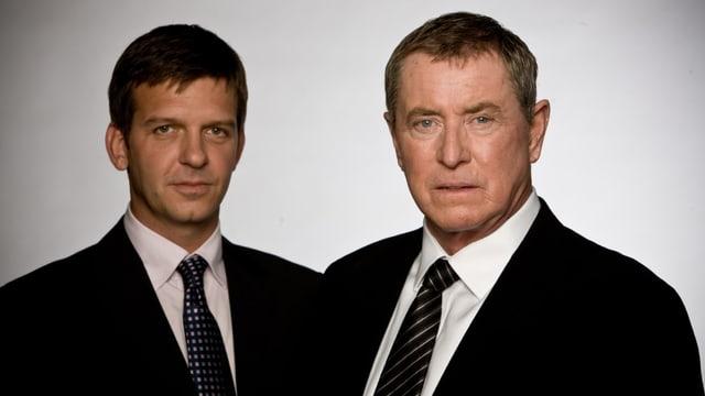 Portrait von Inspektor Barnaby und seinem Assistenten