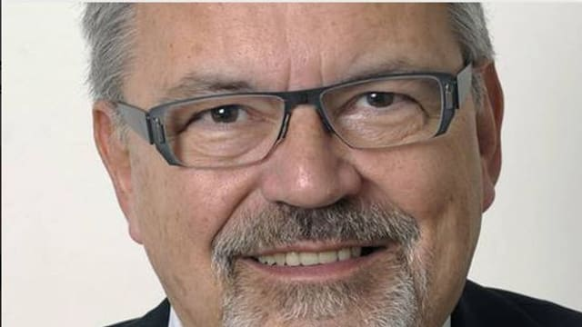 CVP-Landrat Peter Müller.