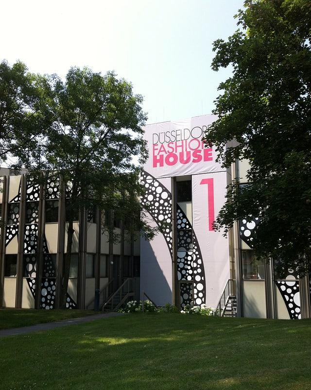Das Fashion House in Düsseldorf.