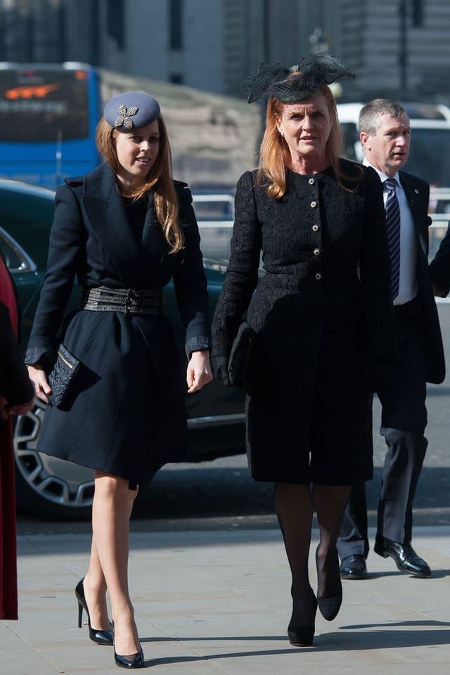 Sarah Ferguson und ihre Tochter Beatrice.